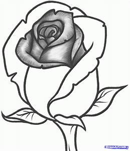 JUST SIMPLE BLOG: HOW TO DRAW A ROSE BUD