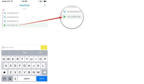 how to send a pin on iphone how to sign up for send and receive snapcash with