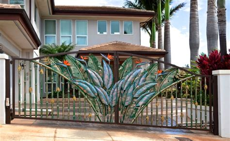 Tropical Entry Gates   Tropical   Windows And Doors