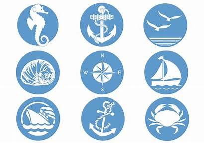 Symbols Nautical Pack Brush Brushes Clip Icons