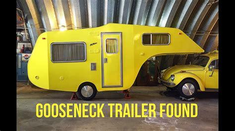 vw bug gooseneck trailer  part  youtube