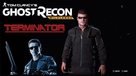 total siege social ghost recon wildlands how to create a terminator custom