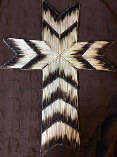 matchstick cross project template   craft