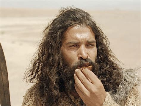 John The Baptist In The Wilderness And