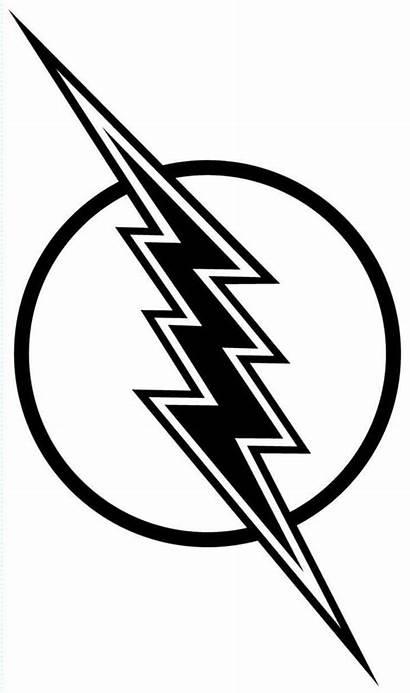 Lightning Bolt Flash Coloring Lighting Gordon Clipart