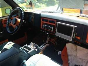 Find Used Custom Painted Orange And Blue 1987 Chevy Blazer With Stereo System In Waterville  New