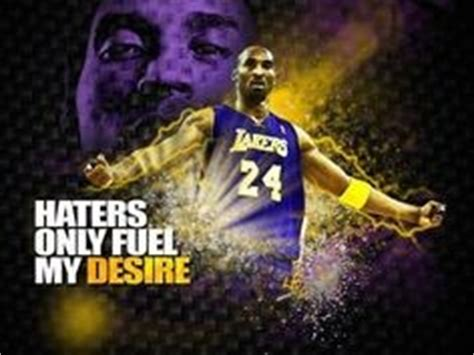 Laker Hater Memes - kobe bryant quotes about haters quotesgram
