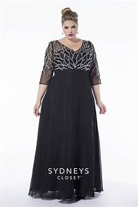 Finally a Plus Size Prom Dress with Sleeves!!! The elegant ...