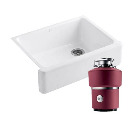 kohler whitehaven sink home depot kohler whitehaven undermount cast iron 30 in 0