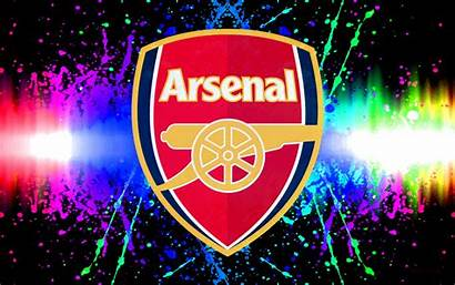 Arsenal Football Wallpapers Fc Colorful Fire Background