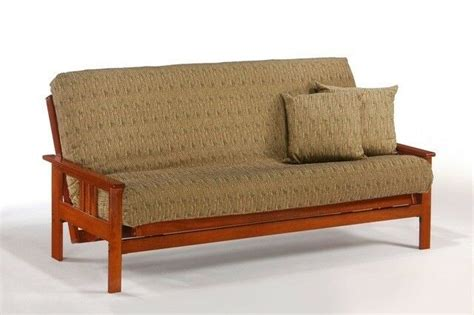 Wooden Frame Sofa Bed by Futon Frame Solid Wood Monterey Futon Sofa Bed Frame