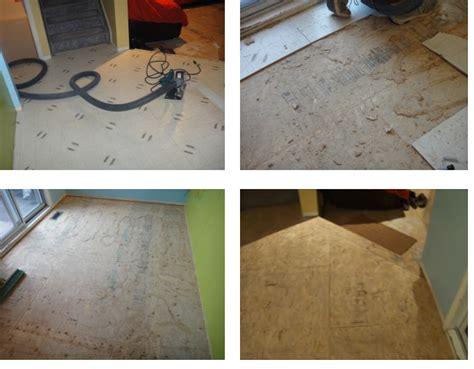 linoleum flooring calgary linoleum removal subfloor removal calgary enviro surface removers