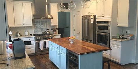 bamboo countertops compare  solid wood countertops