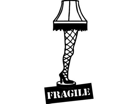 Leg Lamp Dxf File Free Download