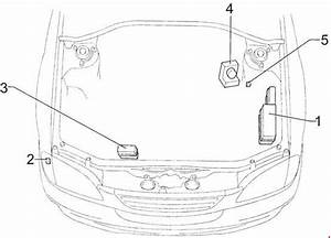 Toyota Avensis  1997 - 2002  - Fuse Box Diagram