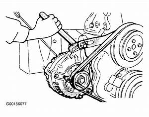1990 Eagle Talon Serpentine Belt Routing And Timing Belt Diagrams