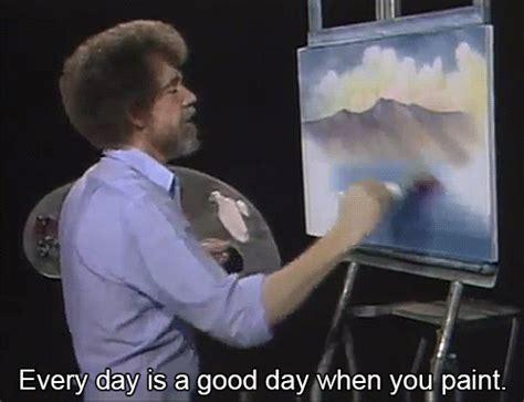 Bob Ross Inspiration Gif
