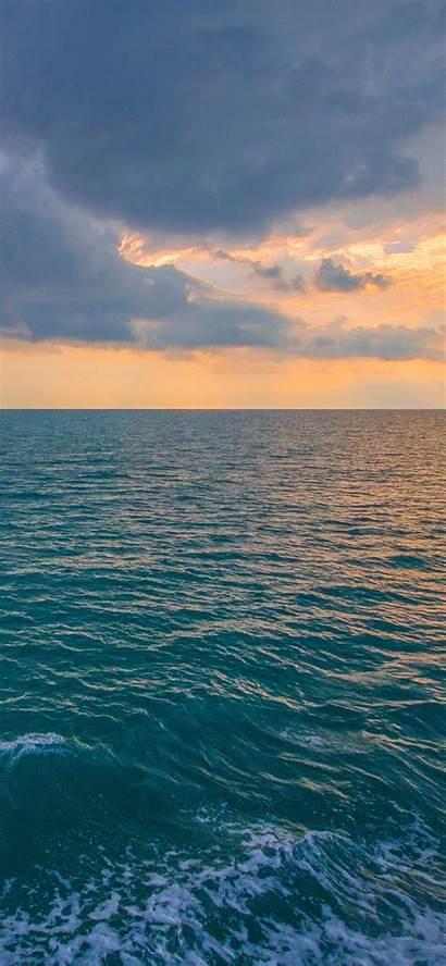 Ocean Sea Iphone Water Sunset Nature Sunny