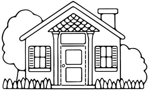 mewarnai gambar rumah untuk anak tk dan sd