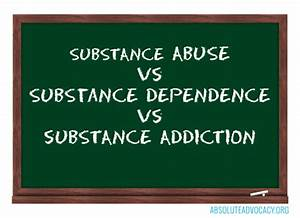 dependence vs addiction