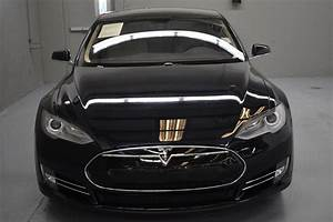 2013 Tesla Model S Performance 2013 Tesla Model S Performance 80671 Miles Blue Metallic 4D Sedan ...