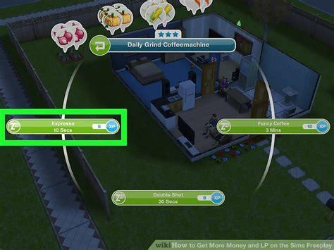 money  lp   sims freeplay  steps