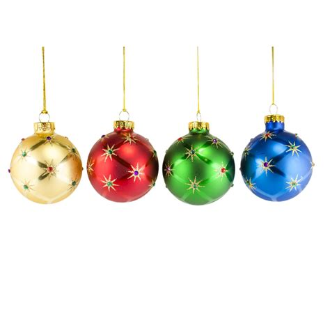 christmas tree ball ornaments invitation template