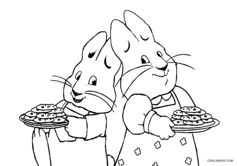 Max And Ruby Coloring Pages To Print - Eskayalitim