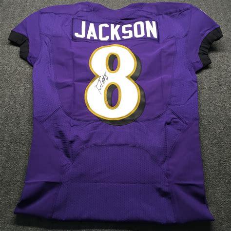 nfl auction nfl ravens lamar jackson signed authentic