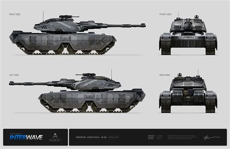 illustrations and concepts of tanks i concept world