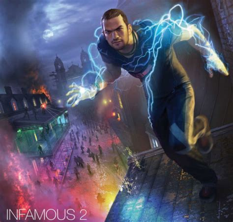 Infamous 2 Revealed For Ps3 In Newest Gameinformer