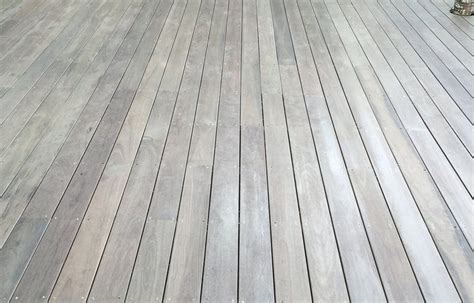 spotted gum weathered  timber deck deck design