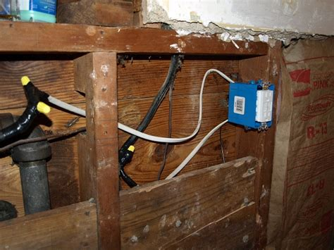 Electrical Grounding Old Wire System Bathroom