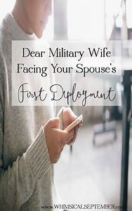 Dear Military S... First Deployment Quotes