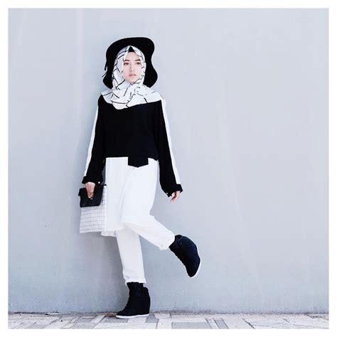 gaya hijabers kekinian  remaja wanita