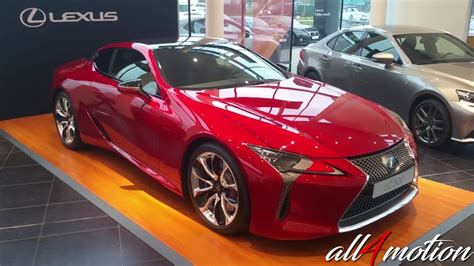 lexus lc coupe   hp red exterior