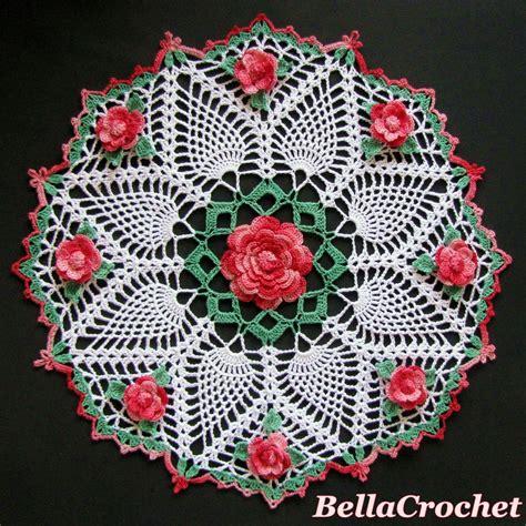 doily patterns bellacrochet dorothy s roses doily a free crochet pattern for you