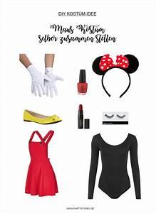 Mickey Mouse Kostüm Selber Machen : kost m ideen f r sie und ihn im stil von micky maus und minnie maus partystories blog ~ Frokenaadalensverden.com Haus und Dekorationen