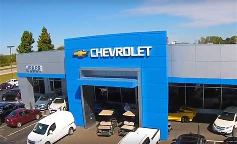 Weber Chevrolet chevy service center in st louis metro creve coeur mo