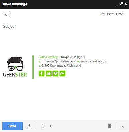 Gmail Signature Template Gmail Email Signature Templates 28 Images Gmail