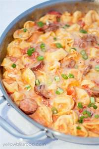 Tortellini Soup with Italian Sausage & Spinach Recipe
