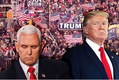 Pence Trump Mike Vice President Coup Donald