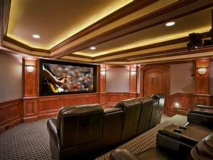 Basement Home Theaters And Media Rooms  Pictures  Tips  U0026 Ideas