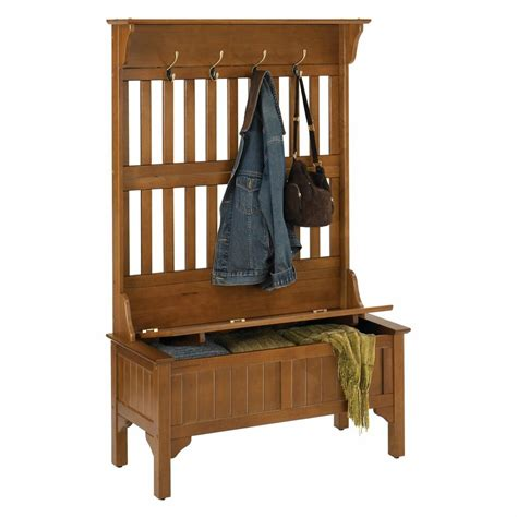 Entryway Benches With Storage And Coat Rack - tree storage bench entryway coat rack stand home