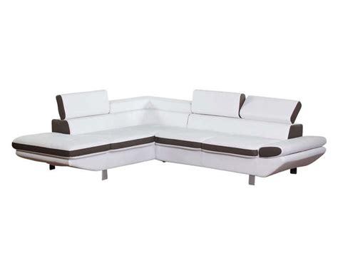 canapé loft but canapé d 39 angle fixe gauche 5 places loft coloris blanc