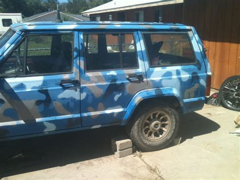 blue camo jeep 1985 xj blue camo page 7 jeep cherokee forum