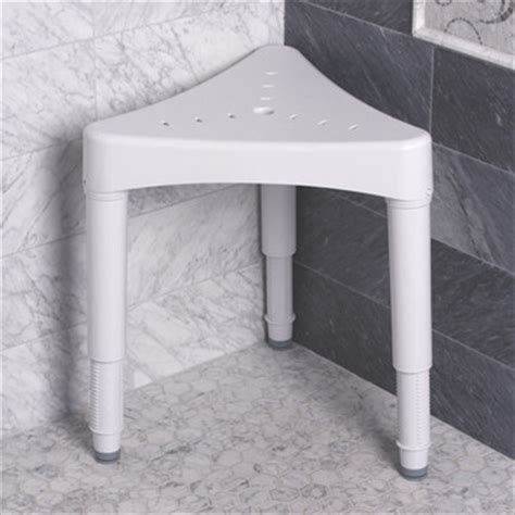 sp ableware maddak adjustable corner shower seat