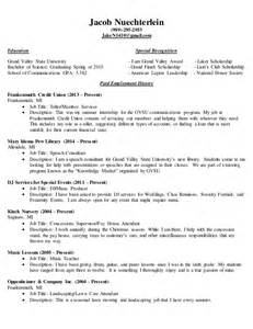 completing a resume complete resume