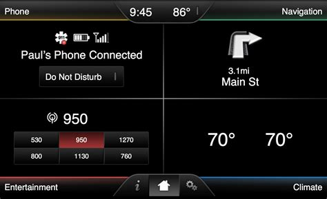 Ford Sync Touch 800x384 Wallpaper Change Wallpaper Ford