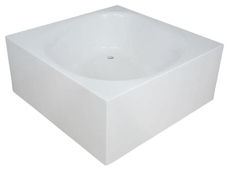 Corner Tub With Shower by Aquatica Liquid Space Freestanding Acrylic Bathtub